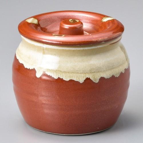 43008-120 赤白流し5号カメ|業務用食器カタログ陶里30号