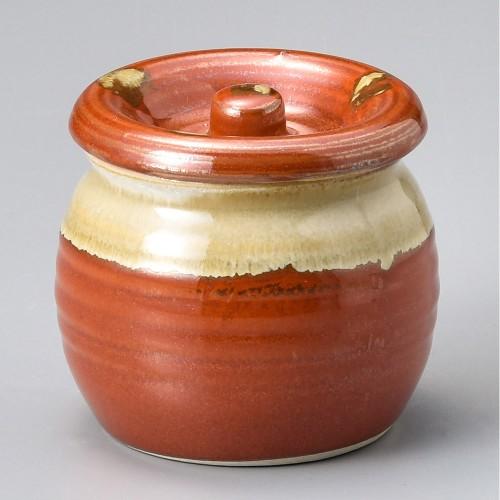 43011-120 赤白流し2号カメ|業務用食器カタログ陶里30号