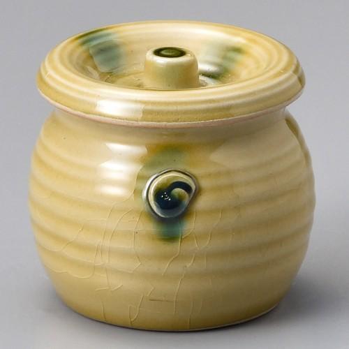 43019-120 黄貫入ミニカメ|業務用食器カタログ陶里30号