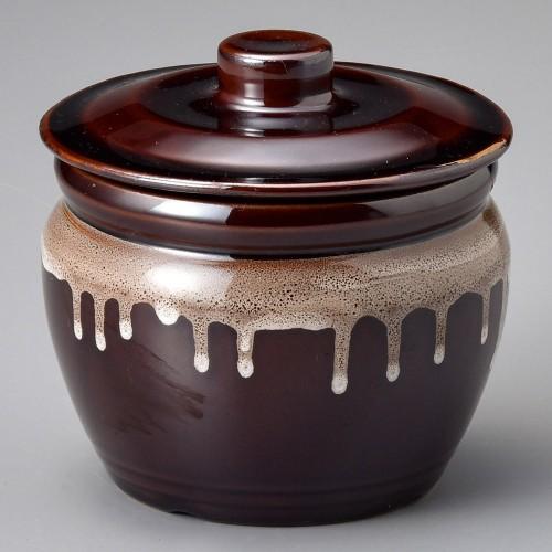 43024-100 茶5号カメ|業務用食器カタログ陶里30号