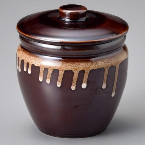 43025-100 茶4号カメ|業務用食器カタログ陶里30号