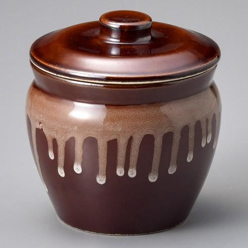43026-100 茶3号カメ|業務用食器カタログ陶里30号