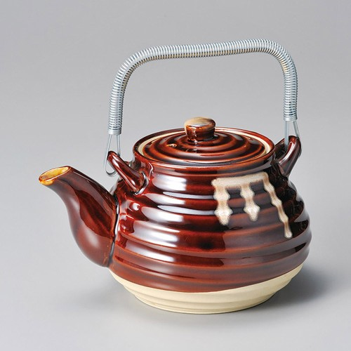 43704-100 茶流し10号薬土瓶|業務用食器カタログ陶里30号