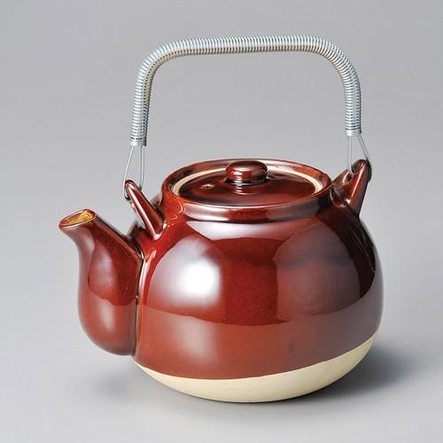 43707-100 アメ栗型薬土瓶10号|業務用食器カタログ陶里30号