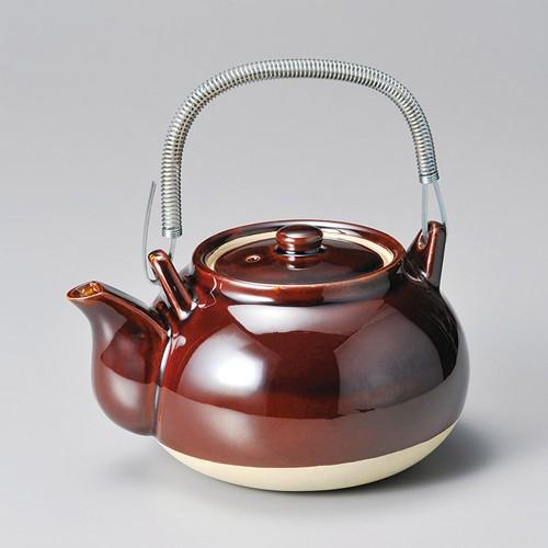 43708-100 アメ栗型薬土瓶8号|業務用食器カタログ陶里30号
