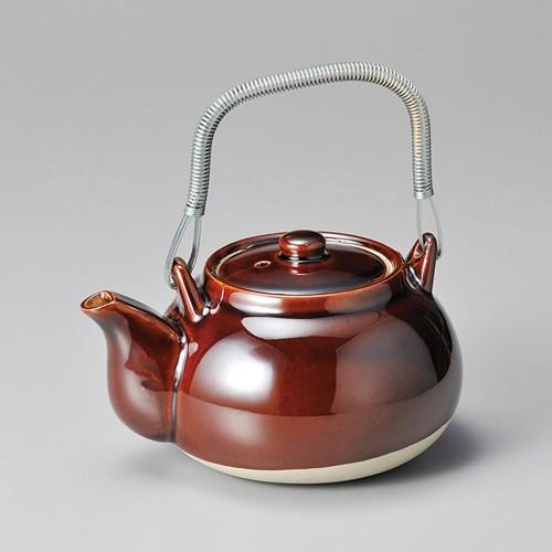 43709-100 アメ栗型薬土瓶5号|業務用食器カタログ陶里30号