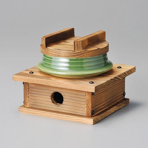 43710-120 文福釜飯セットグリン|業務用食器カタログ陶里30号