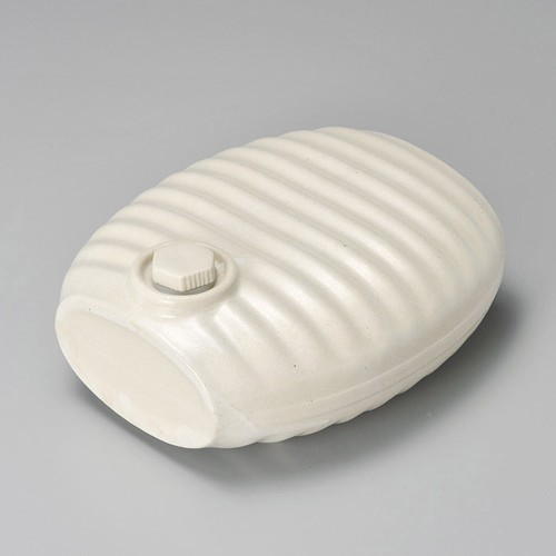 43715-100 オーガニックホワイト湯たんぽ|業務用食器カタログ陶里30号
