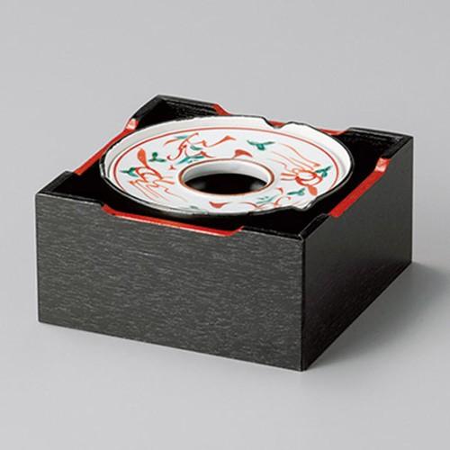 43801-410 赤絵万暦4.0灰皿|業務用食器カタログ陶里30号