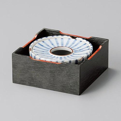 43807-410 十草3.5灰皿|業務用食器カタログ陶里30号