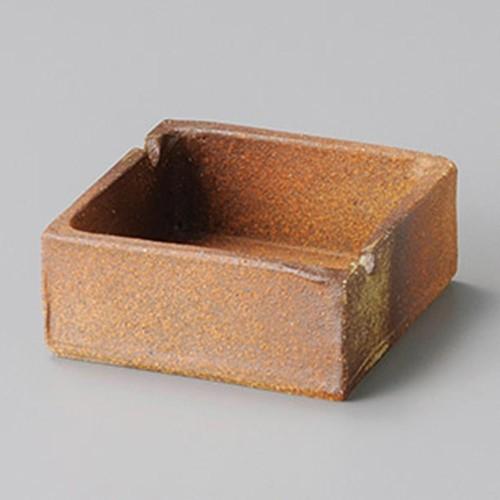 43809-430 信楽角灰皿|業務用食器カタログ陶里30号