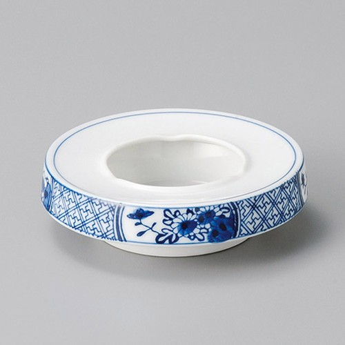 43817-150 菊間取4.5灰皿|業務用食器カタログ陶里30号