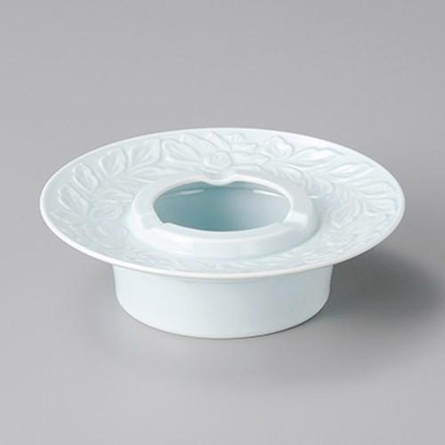 43820-460 青磁唐草 6.0灰皿|業務用食器カタログ陶里30号