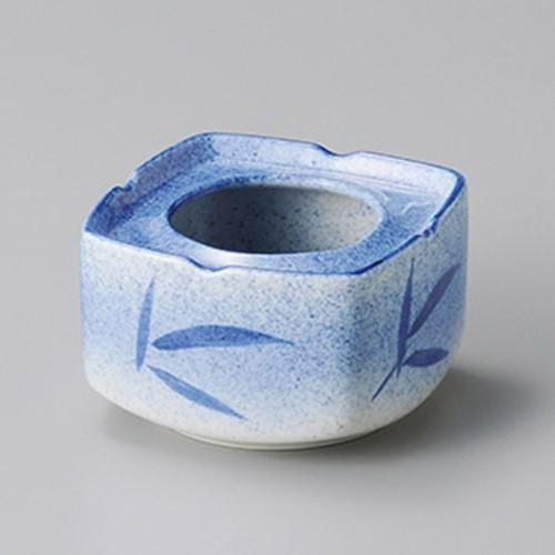 43824-170 吹墨笹4.5灰皿|業務用食器カタログ陶里30号