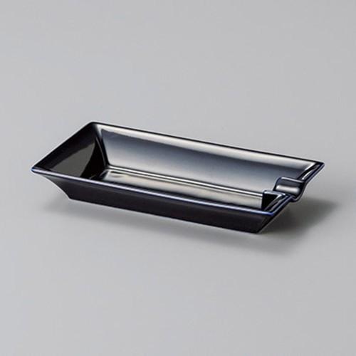 43827-170 ルリ葉巻トレー|業務用食器カタログ陶里30号