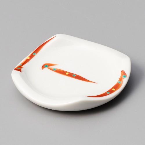 44008-460 赤彩受皿|業務用食器カタログ陶里30号