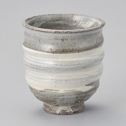 44709-430 刷毛目湯呑|業務用食器カタログ陶里30号