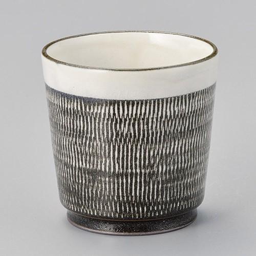 44714-280 トチリ切立湯呑|業務用食器カタログ陶里30号
