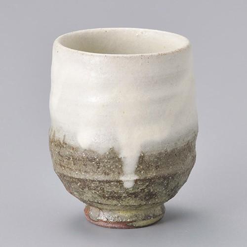 45309-430 灰釉粉引湯呑(小) 業務用食器カタログ陶里30号