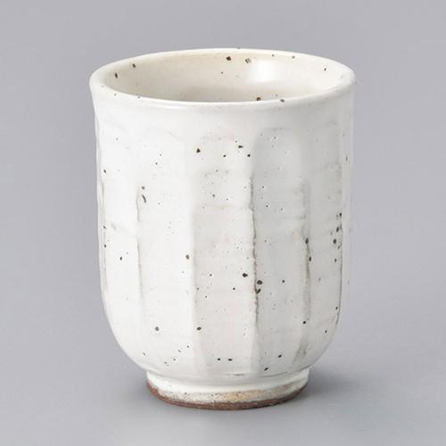 45314-450 粉引鉄彩湯呑(大) 業務用食器カタログ陶里30号
