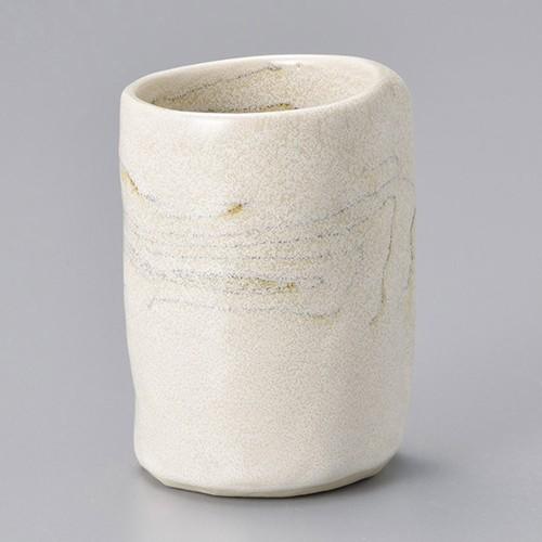 45319-080 ねり込み湯呑(中) 業務用食器カタログ陶里30号