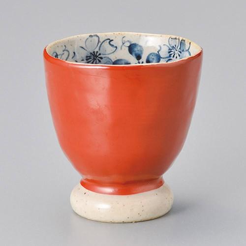 45409-450 朱巻さくら湯呑(大)|業務用食器カタログ陶里30号