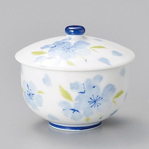 45601-050 里桜ブルー蓋付千茶|業務用食器カタログ陶里30号