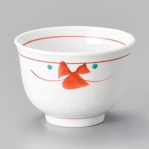 45612-460 赤絵小花千茶|業務用食器カタログ陶里30号