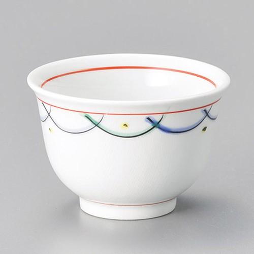45614-460 赤絵むさし野千茶|業務用食器カタログ陶里30号
