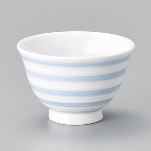 45620-120 染付駒筋反千茶|業務用食器カタログ陶里30号