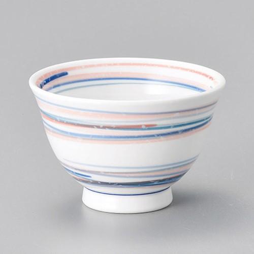 45621-070 流水オレンジ反千茶|業務用食器カタログ陶里30号