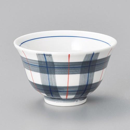 45713-150 チェック反千茶 業務用食器カタログ陶里30号