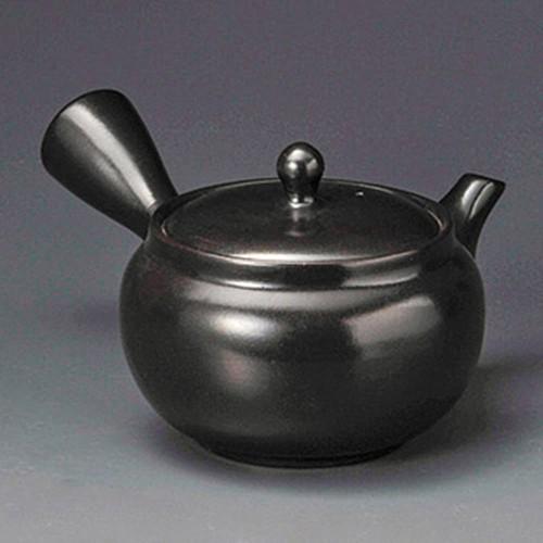 46211-350 黒泥2.0号急須(ぐるり網)SF2GN 業務用食器カタログ陶里30号