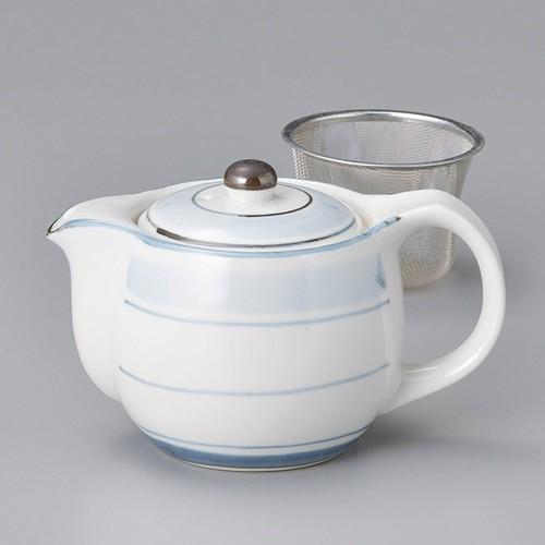 46404-150 淡彩ラインポット 業務用食器カタログ陶里30号