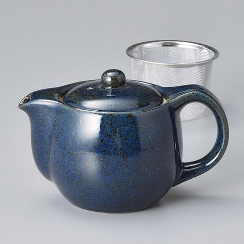 46405-450 ラピスラズリポット(アミ付) 業務用食器カタログ陶里30号