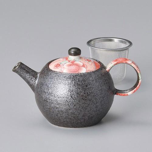 46409-450 紅友禅ミニポット(アミ付) 業務用食器カタログ陶里30号