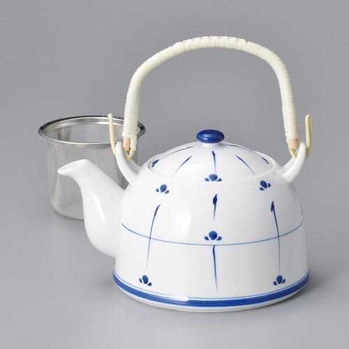 46506-240 新芽土瓶8号茶こし付 業務用食器カタログ陶里30号