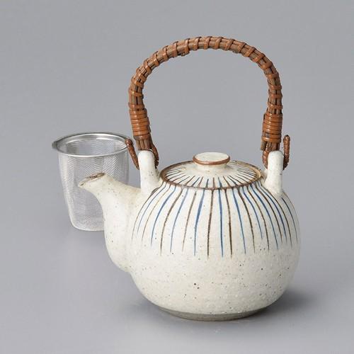 46513-100 千段十草土瓶 業務用食器カタログ陶里30号