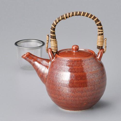 46520-460 朱赤土瓶 業務用食器カタログ陶里30号