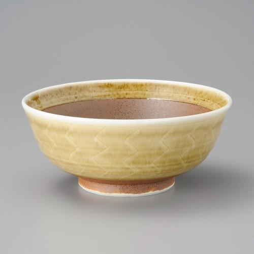 46824-160 錆雁木縞7.5大鉢|業務用食器カタログ陶里30号