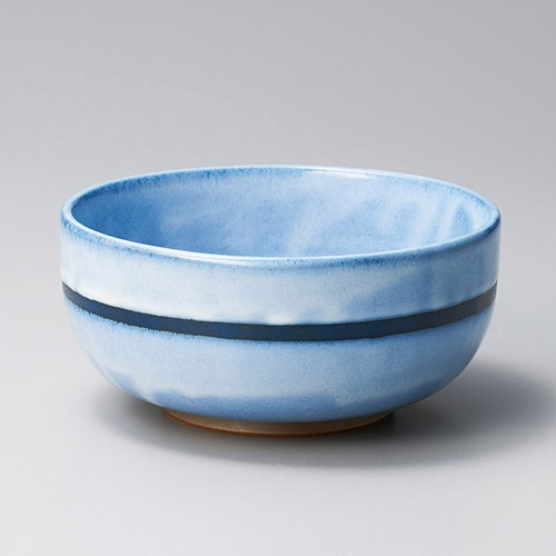 48002-410 青海波深口4.5丼|業務用食器カタログ陶里30号