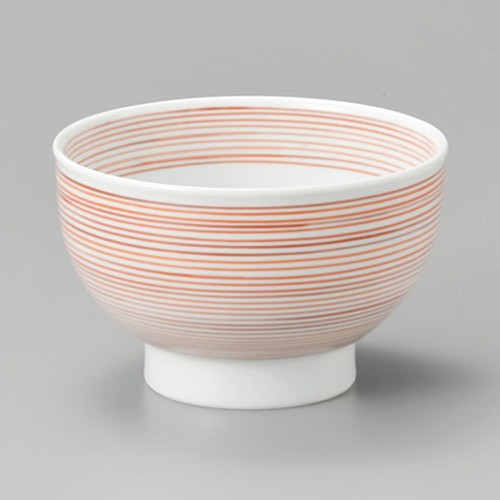 48007-310 赤千筋高台5.5鉢|業務用食器カタログ陶里30号