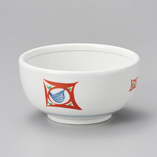48614-460 赤入錆点(厚口)5.5ボール 業務用食器カタログ陶里30号