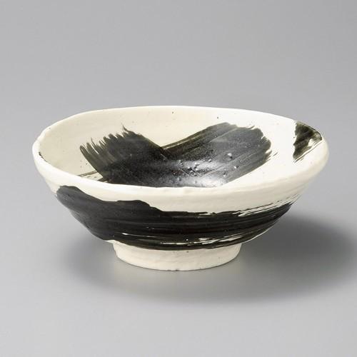 50208-160 黒刷毛6.5多用丼|業務用食器カタログ陶里30号