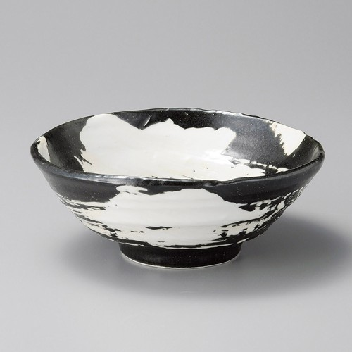 50209-160 白刷毛6.5多用丼|業務用食器カタログ陶里30号