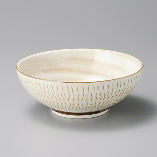50214-200 萩かんな麺鉢|業務用食器カタログ陶里30号