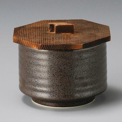 50602-320 鉄線花筒型飯器 木蓋|業務用食器カタログ陶里30号