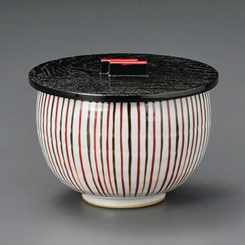 50609-210 麦ワラ手飯器(蓋)|業務用食器カタログ陶里30号