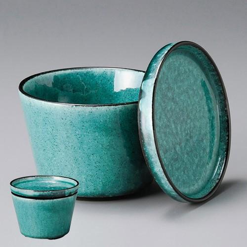 50613-080 kasaneトルコ釉飯器|業務用食器カタログ陶里30号