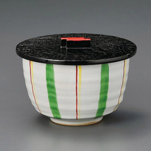 50617-210 グリーン十草飯器(身)|業務用食器カタログ陶里30号